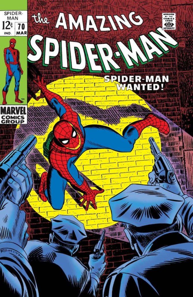 disegnare spider-man john romita sr marvel fumetti