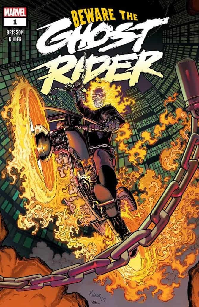 beware the ghost rider nuovo fumetto marvel