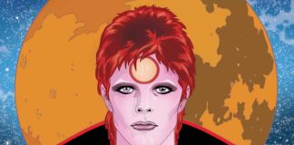 david bowie graphic novel michael allred