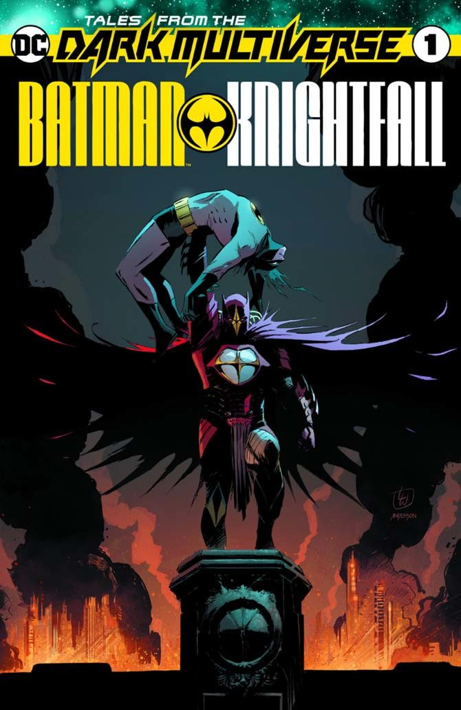 nuovi fumetti dc tales from the dark multiverse batman knightfall
