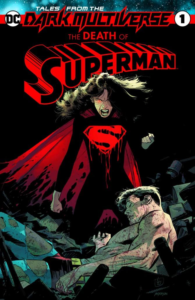 nuovi fumetti dc tales from the dark multiverse death of superman
