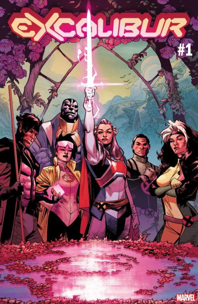 excalibur x-men hickman nuovi fumetti marvel