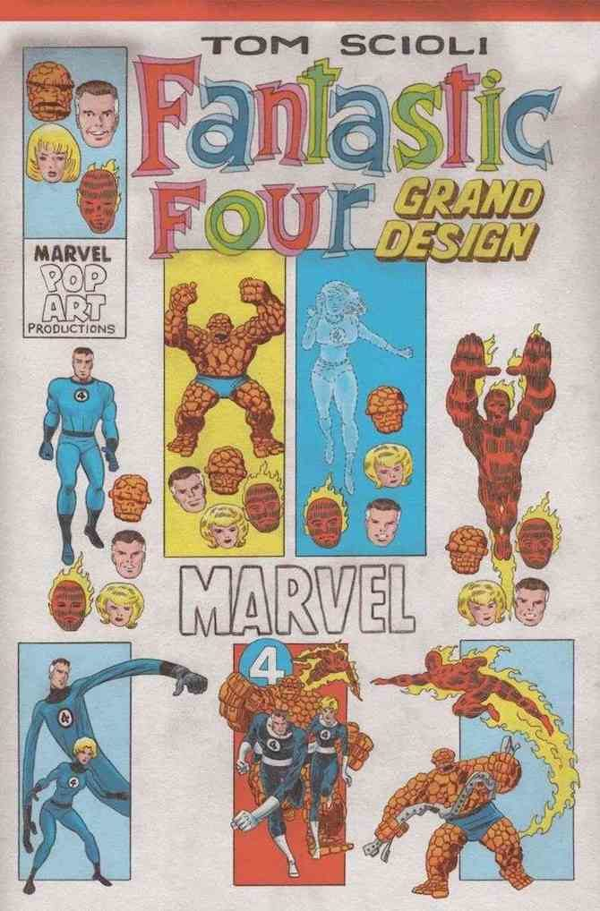 fantastic four grand design
