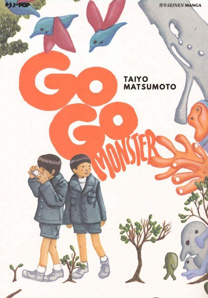 go go monster taiyo matsumoto migliori fumetti luglio 2019
