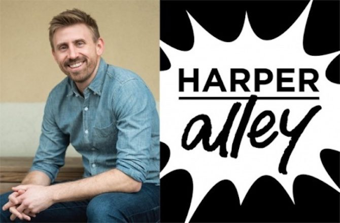 harper alley graphic novel