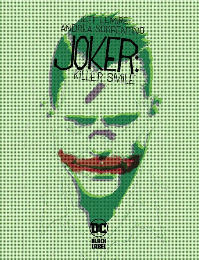 joker sorriso che uccide jeff lemire andrea sorrentino dc comics panini
