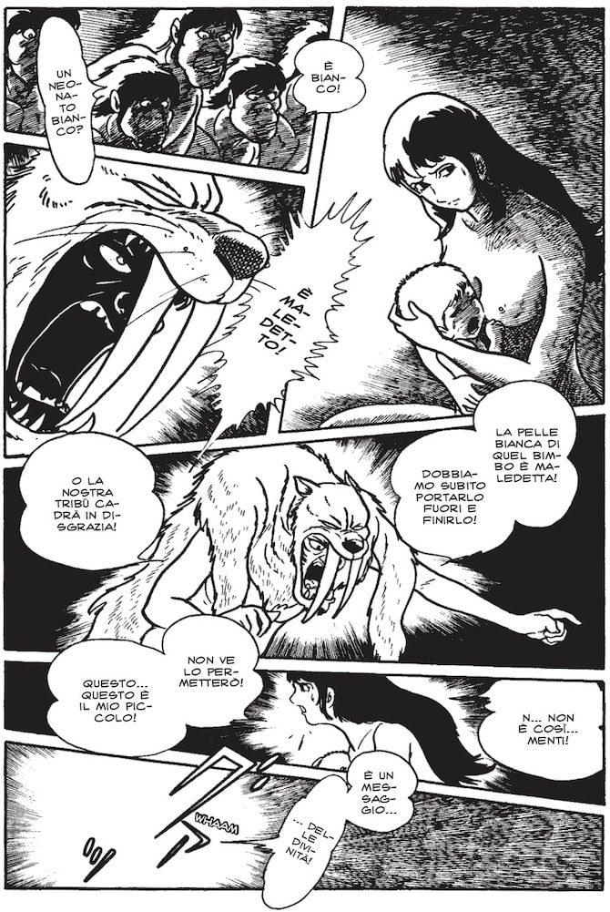 Ryu delle caverne manga