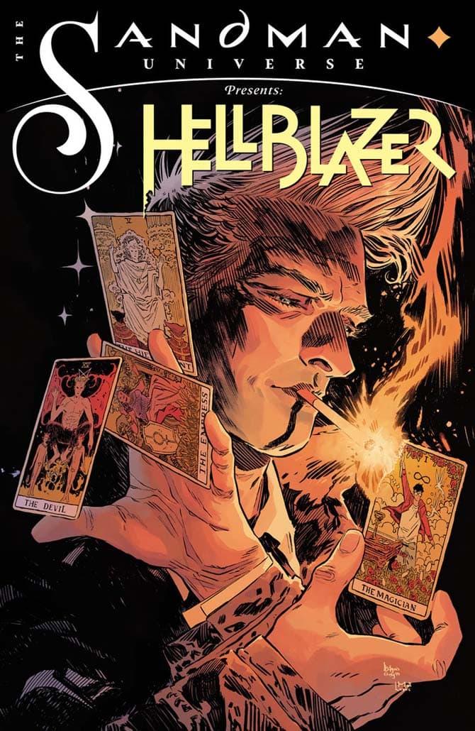 Copertina de The Sandman universe presents Hellblazer