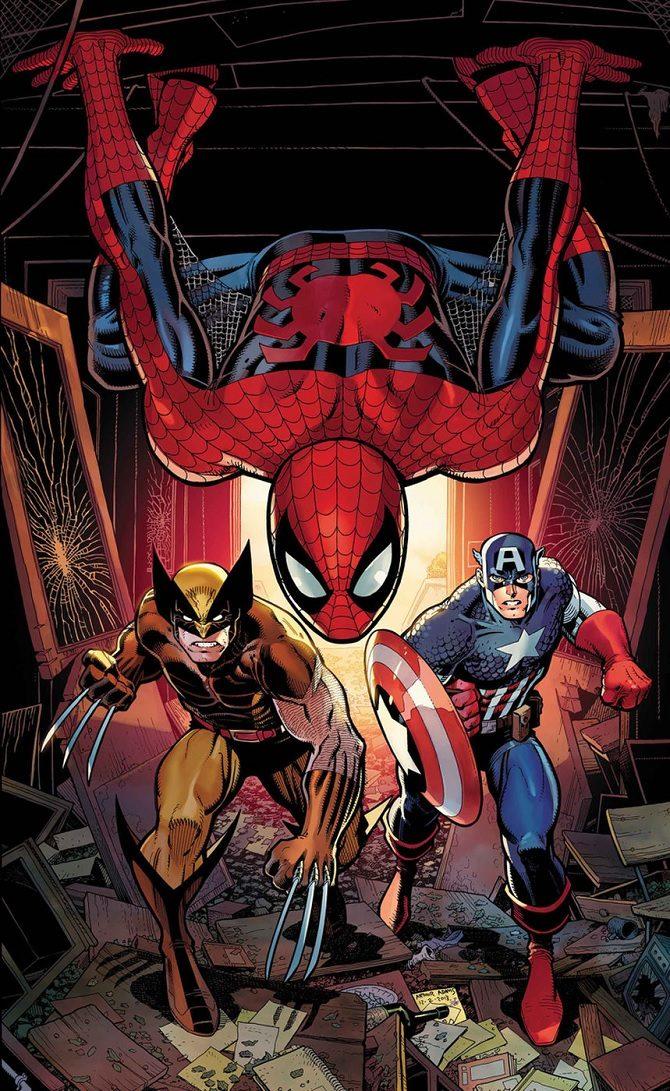 disegnare spider-man arthur adams marvel