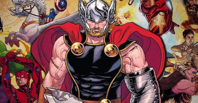 thor guerra dei regni marvel fumetti