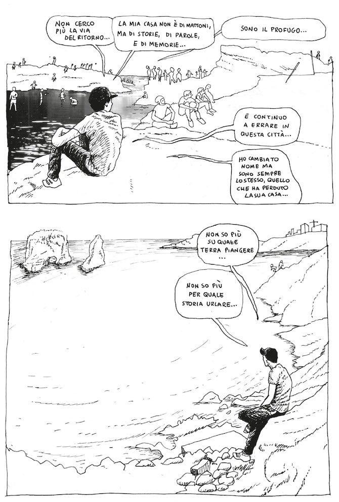 trilogia di beirut barrack rima mesogea fumetto