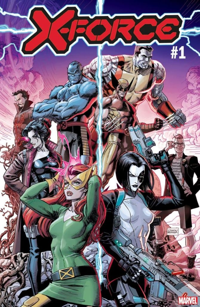 x-force marvel