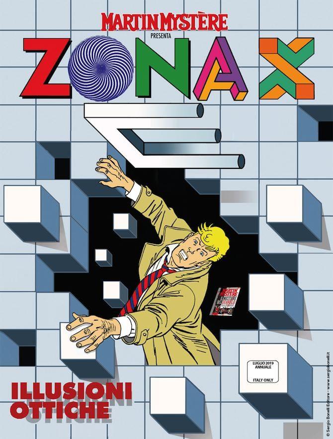 zona x illusioni ottiche radar fumetti 5 7 2019