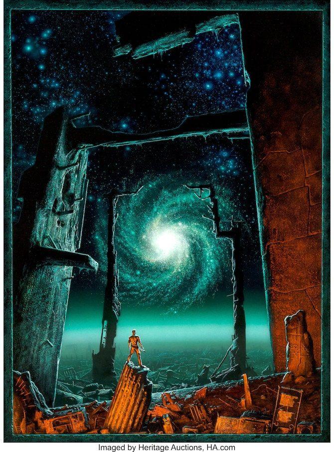asta fantascienza Glynn Crain michael whelan