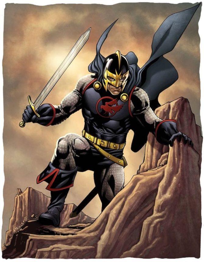 Kit Harington cavaliere nero eternals
