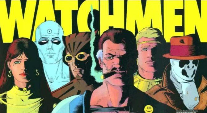 watchmen saga alan moore dave gibbons fumetto dc comics