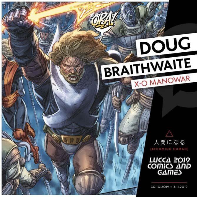 doug braithwaite lucca comics 2019