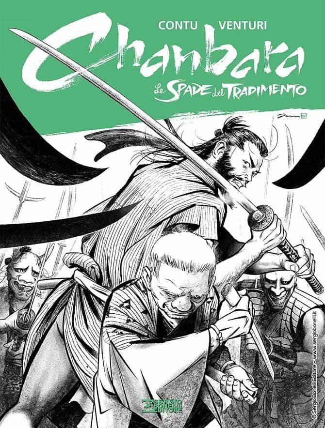 """Un po' di pagine dal nuovo volume di """"Chanbara"""", la serie Bonelli sui samurai - Fumettologica"""