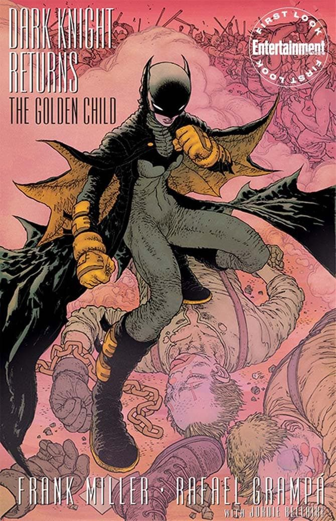 frank miller golden child fumetto batman