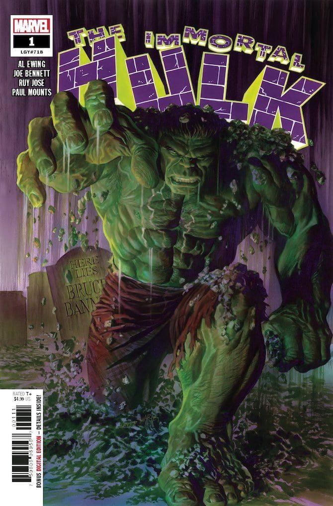 al ewing intervista fumetti immortale hulk