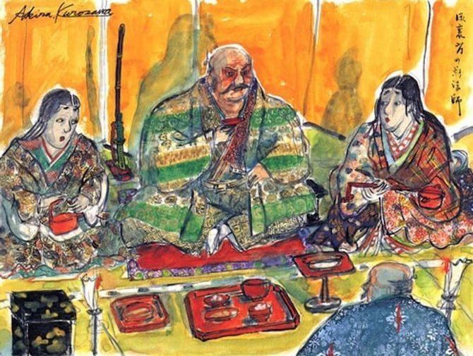 storyboard akira kurosawa