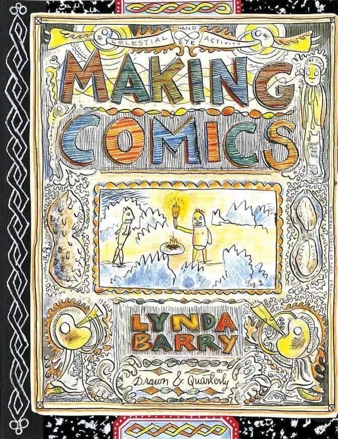 making comics lynda barry genius grant