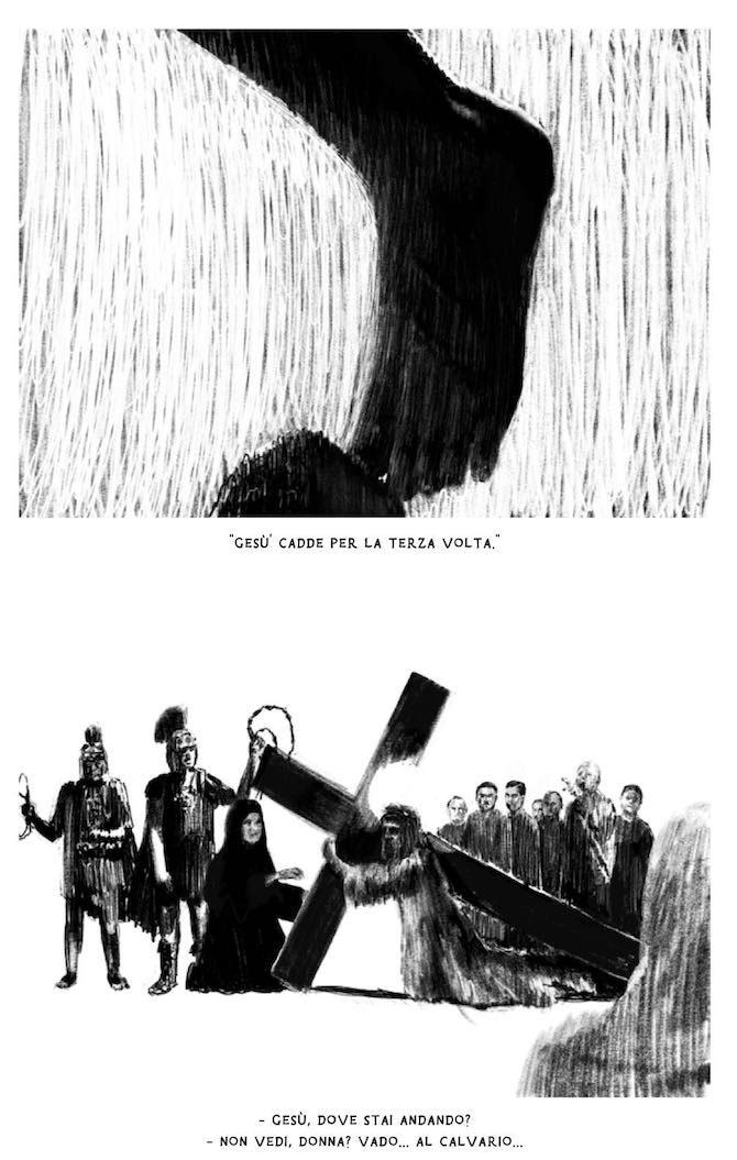"""""""Qristo"""", fumetto autoprodotto di Marco Taddei e Simone Manfrini - Fumettologica"""