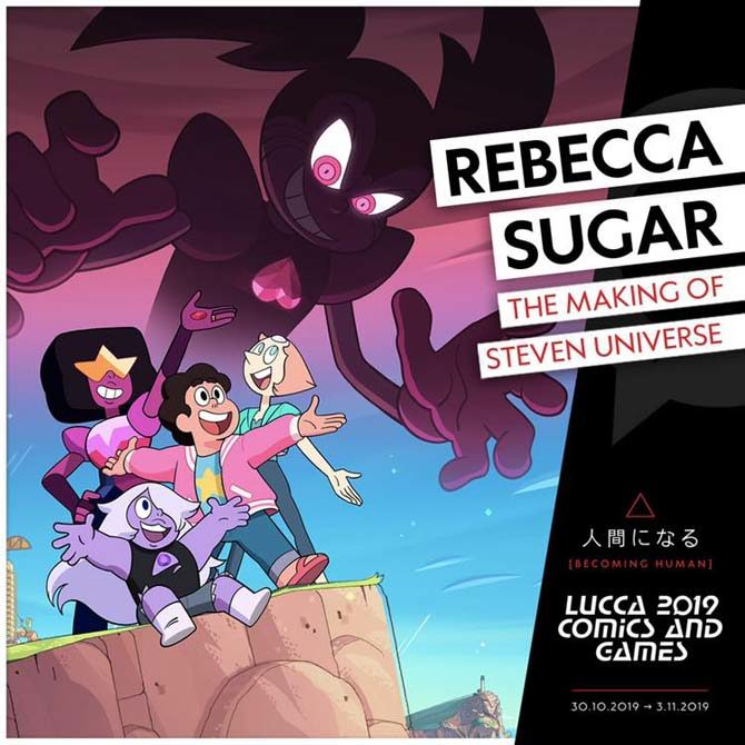 rebecca sugar lucca comics
