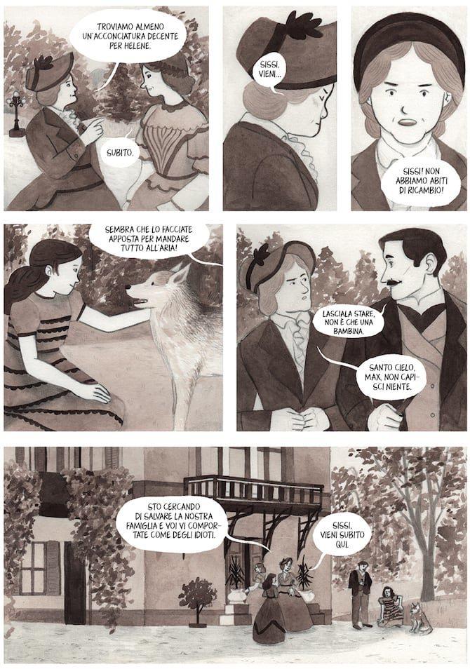 La biografia a fumetti di Sissi, imperatrice, ribelle