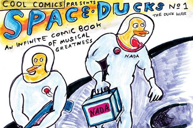 daniel johnson fumetti space ducks