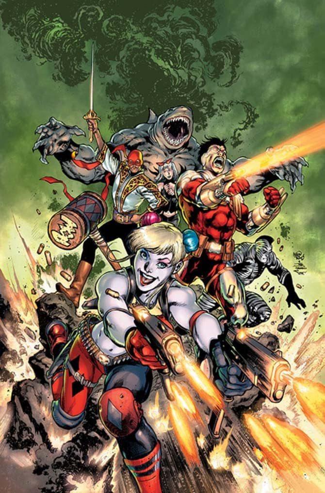 suicide squad nuovo fumetto dc comics