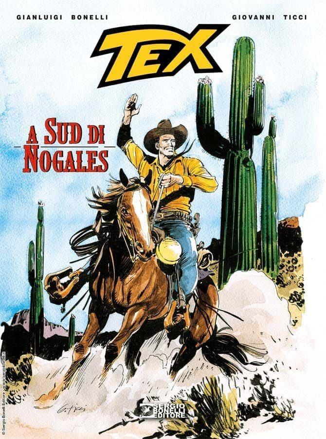 Un po' di pagine dal nuovo albo cartonato a colori di Tex - Fumettologica