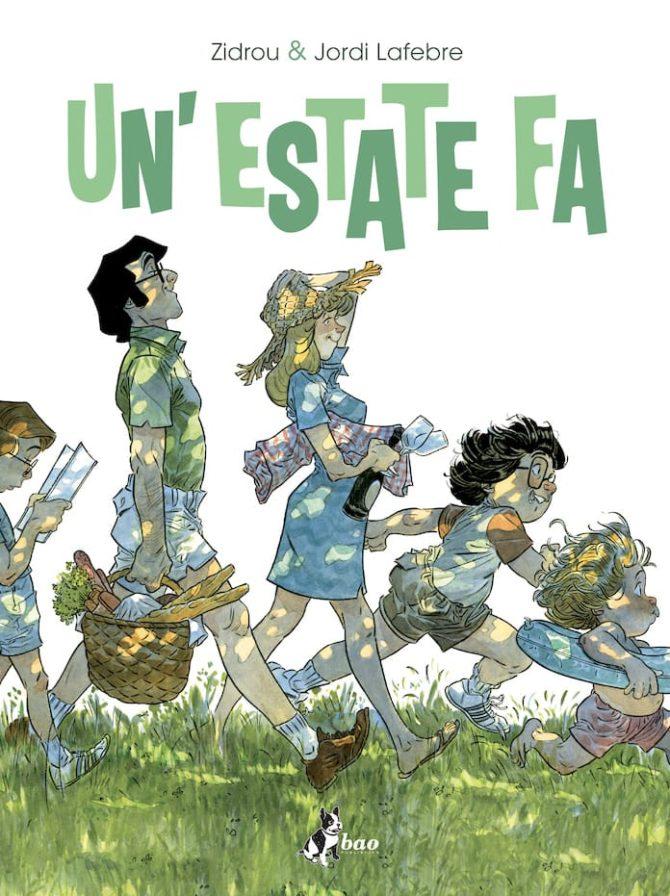 """Le prime pagine di """"Un'estate fa"""", di Zidrou e Jordi Lafebre - Fumettologica"""