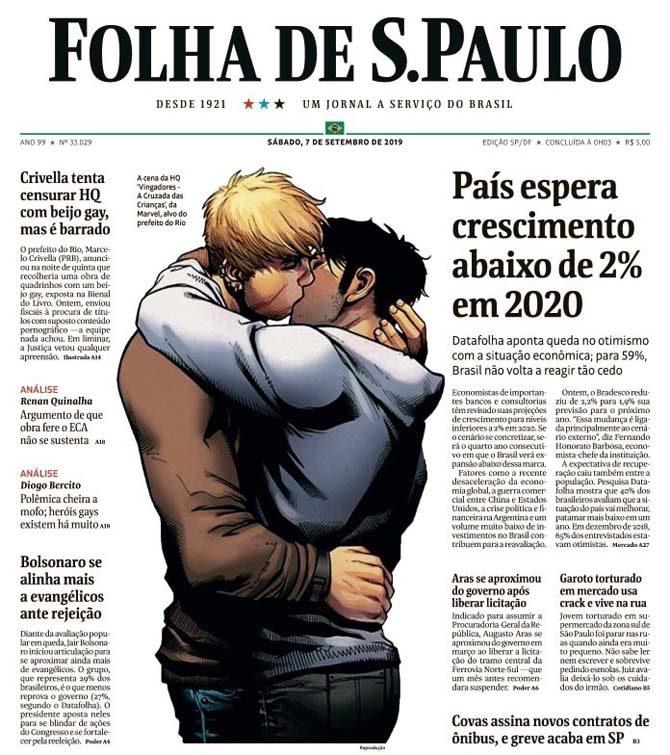 young avengers bacio gay censura