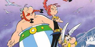 Asterix figlia vercingetorige copertina