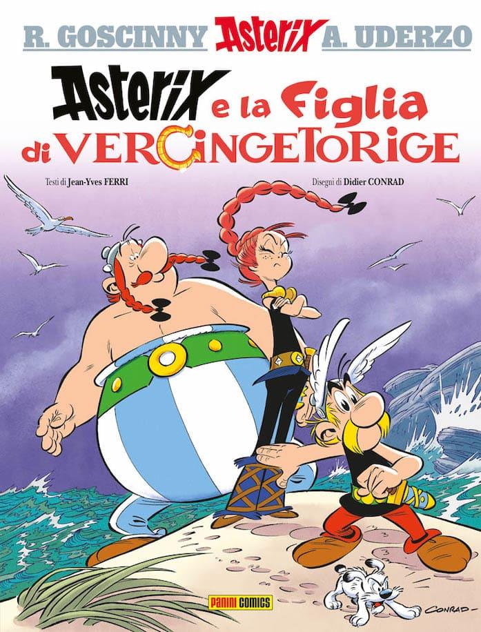 Asterix figlia vercingetorige fumetti venduti francia 2019
