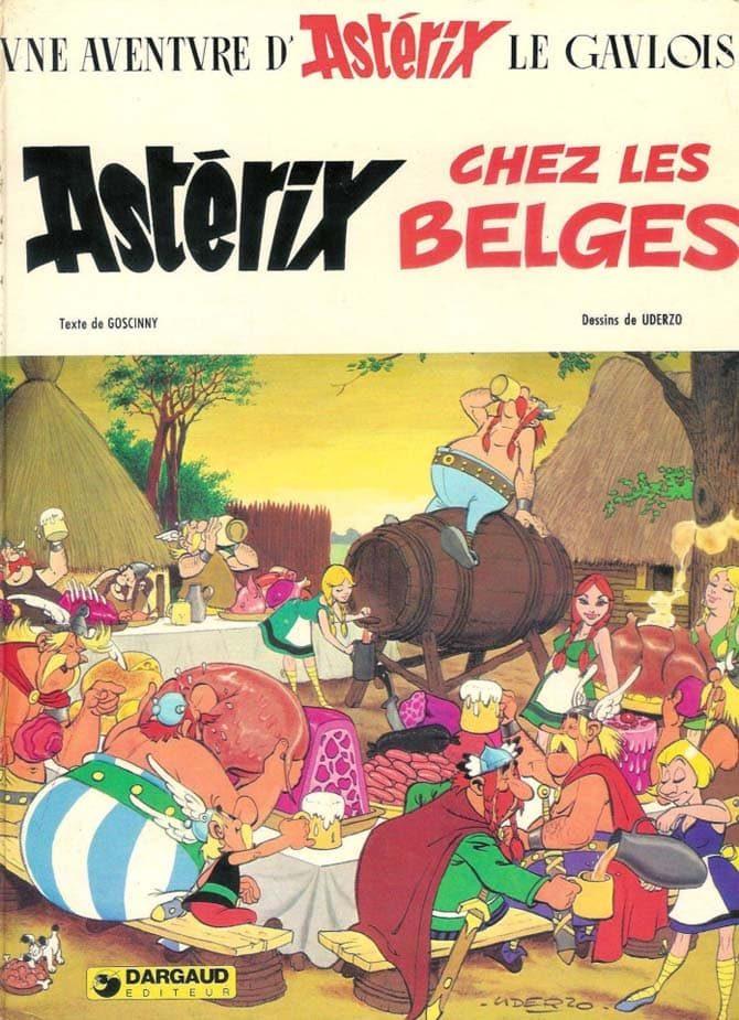 asterix e i belgi asterix 60