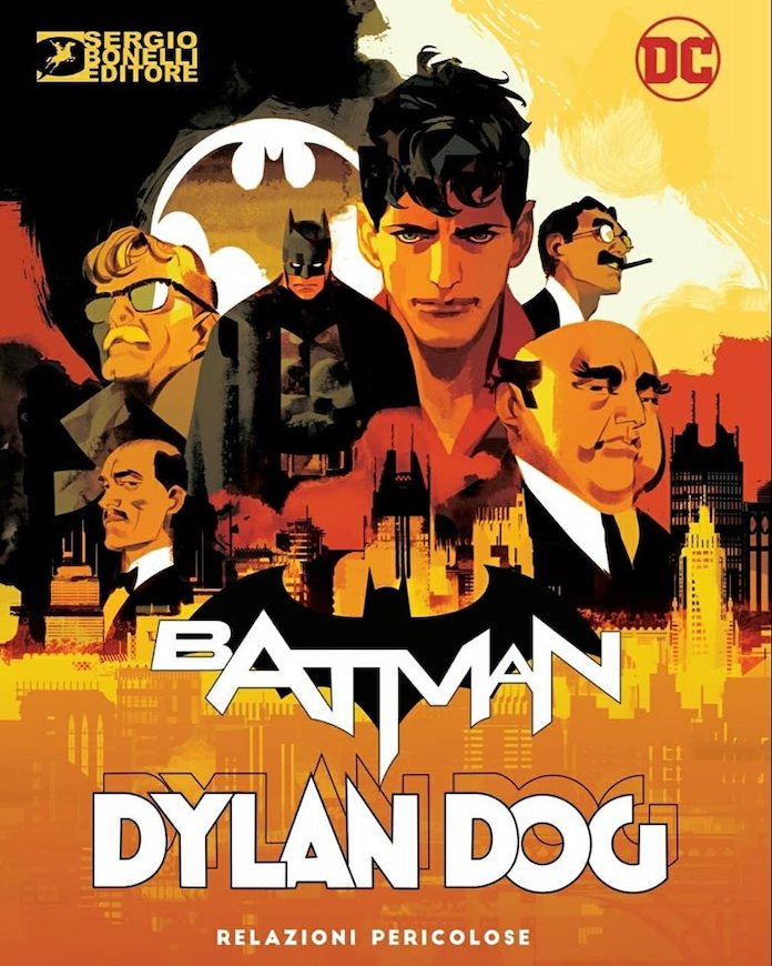 batman dylan dog bonelli dc comics