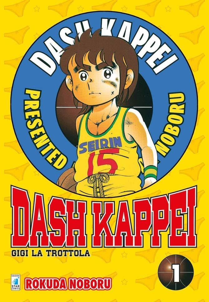 dash kappei gigi la trottola manga star comics fumetti 11 10 2019