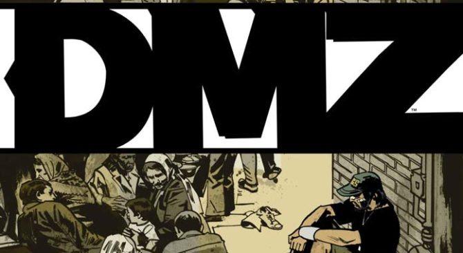 dmz serie tv fumetto vertigo dc comics