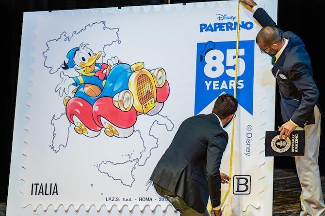 Lucca Comics francobollo