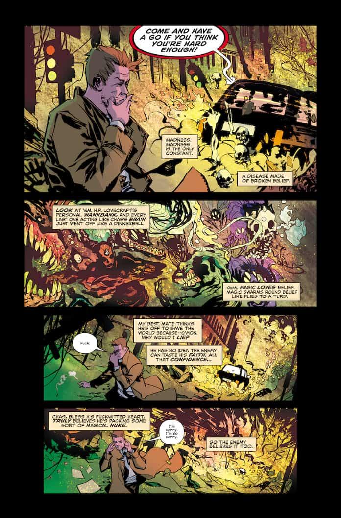 Tavola n. 5 da The Sandman universe presents Hellblazer