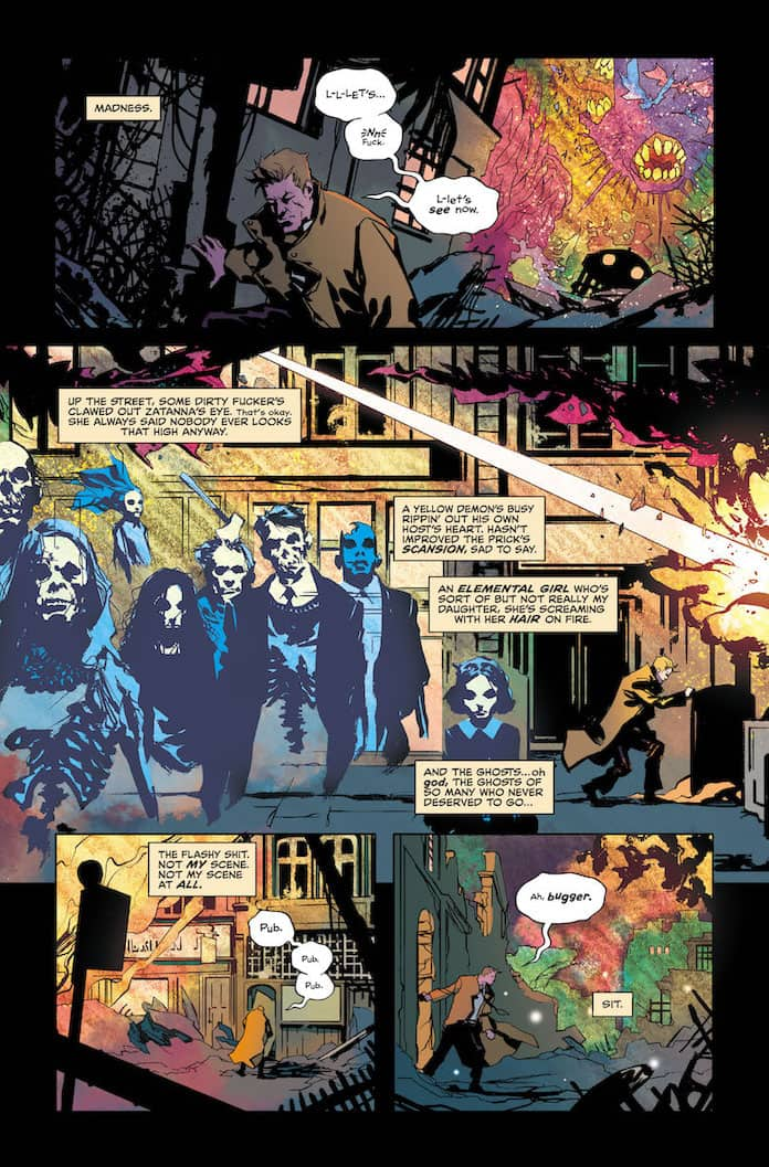 Tavola n. 7 da The Sandman universe presents Hellblazer
