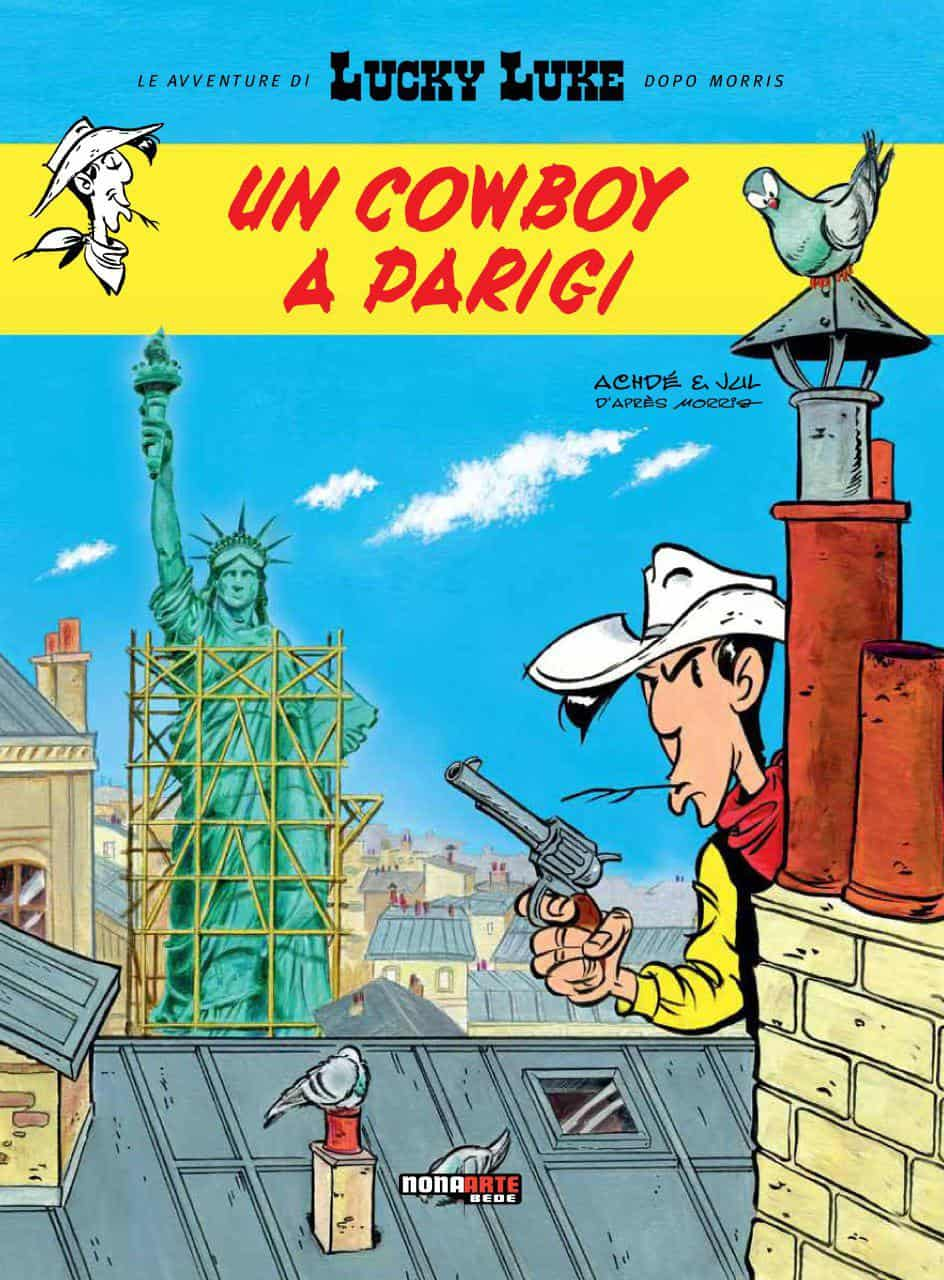 lucky luke cowboy parigi