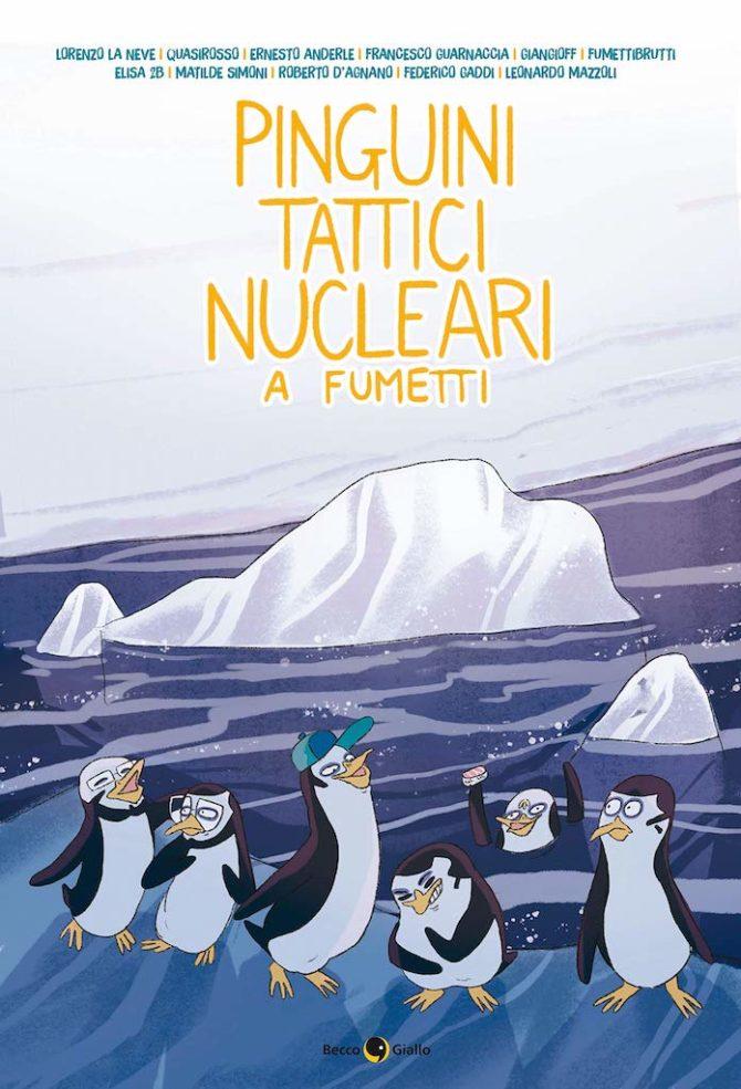 pinguini tattici nucleari fumetti lucca comics 2019