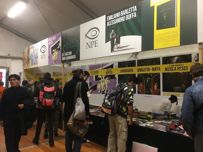 stand editori lucca comics 2019