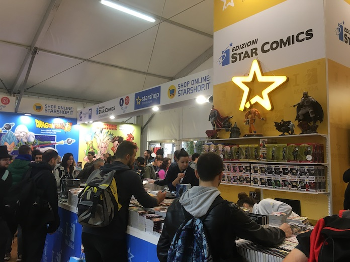 stand editori lucca comics 2019 star