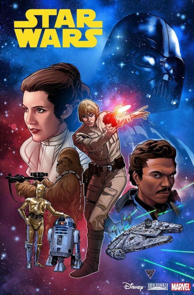 star wars nuovi fumetti marvel new york