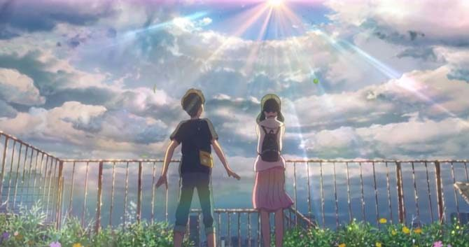 weathering with you makoto shinkai anime