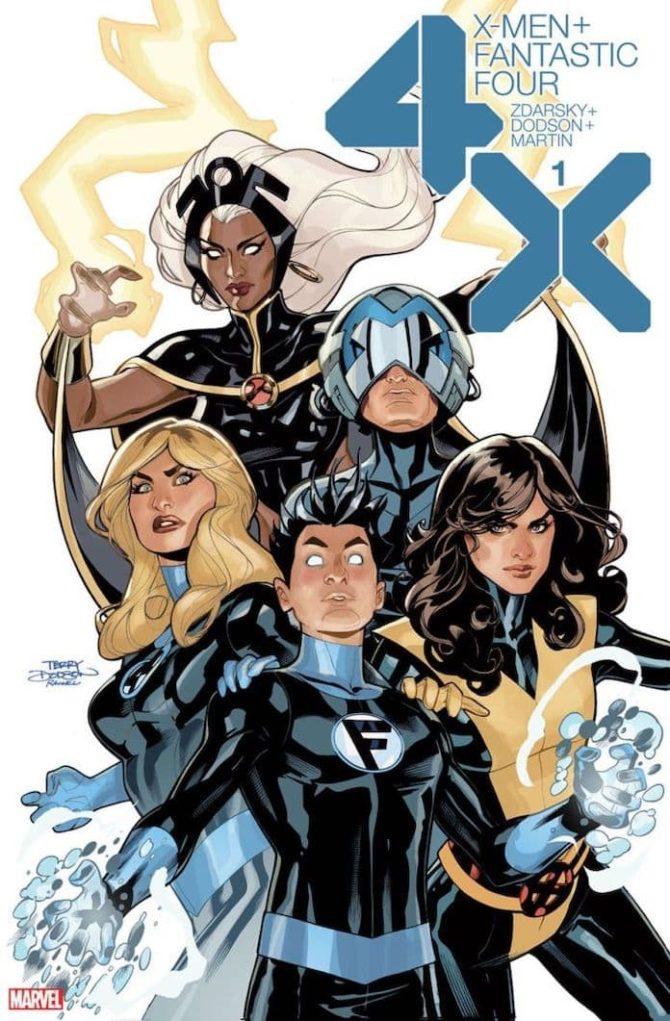 x-men fantastic four fumetti usa 2020